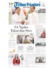 Cover Tribun Pekanbaru 12 Oktober 2019