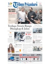 Tribun Pekanbaru Cover 14 October 2019