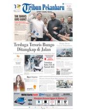 Cover Tribun Pekanbaru 14 Oktober 2019