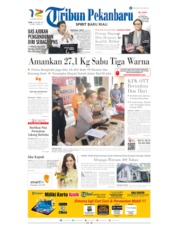 Tribun Pekanbaru Cover 16 October 2019