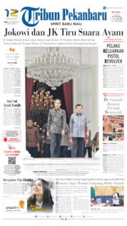 Tribun Pekanbaru Cover 19 October 2019