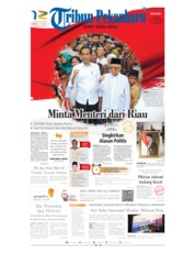 Tribun Pekanbaru Cover 20 October 2019