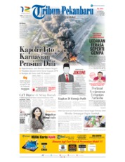Tribun Pekanbaru Cover 23 October 2019