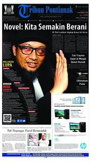 Tribun Pontianak Cover 23 February 2018