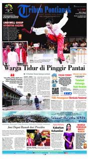 Cover Tribun Pontianak 21 Agustus 2018