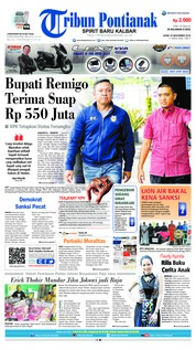 Cover Tribun Pontianak