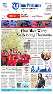 Cover Tribun Pontianak 10 Desember 2018