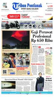 Cover Tribun Pontianak 17 Desember 2018