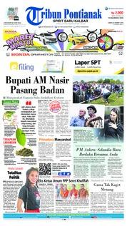 Tribun Pontianak Cover 23 March 2019