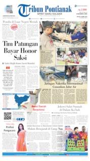 Cover Tribun Pontianak 16 April 2019