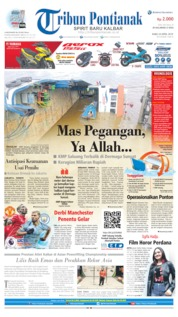 Tribun Pontianak Cover 24 April 2019