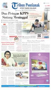 Tribun Pontianak Cover 26 April 2019