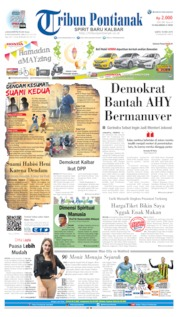 Tribun Pontianak Cover 18 May 2019
