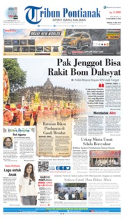 Tribun Pontianak Cover 19 May 2019
