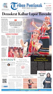 Tribun Pontianak Cover 21 May 2019