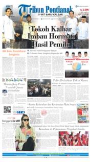 Tribun Pontianak Cover 22 May 2019