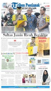 Tribun Pontianak Cover 24 May 2019