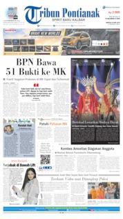 Tribun Pontianak Cover 26 May 2019