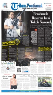 Tribun Pontianak Cover 28 May 2019