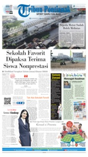 Tribun Pontianak Cover 29 May 2019