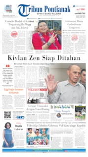Tribun Pontianak Cover 30 May 2019