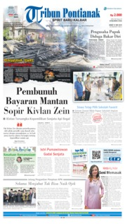 Tribun Pontianak Cover 31 May 2019