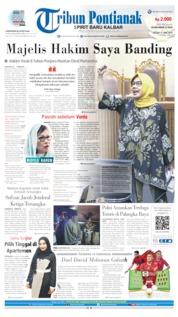 Tribun Pontianak Cover 11 June 2019