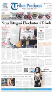 Tribun Pontianak Cover 12 June 2019