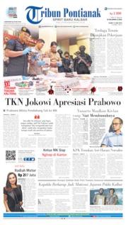Tribun Pontianak Cover 13 June 2019