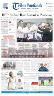 Tribun Pontianak Cover 14 June 2019