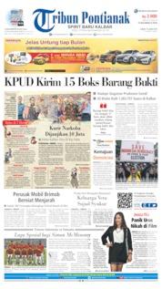 Tribun Pontianak Cover 15 June 2019
