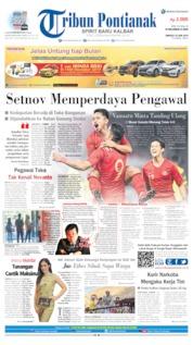 Cover Tribun Pontianak 16 Juni 2019