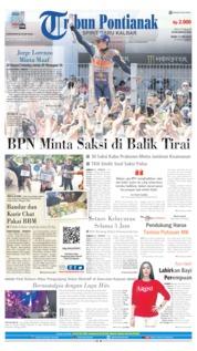 Cover Tribun Pontianak 17 Juni 2019