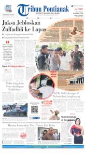 Tribun Pontianak Cover 20 June 2019