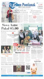 Cover Tribun Pontianak 25 Juni 2019