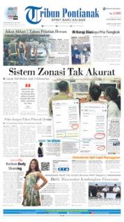 Cover Tribun Pontianak 26 Juni 2019