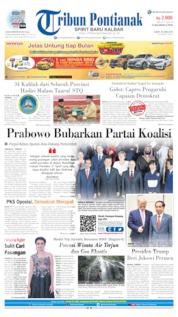 Cover Tribun Pontianak 29 Juni 2019