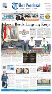 Cover Tribun Pontianak 01 Juli 2019