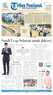 Cover Tribun Pontianak 02 Juli 2019