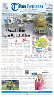Cover Tribun Pontianak 04 Juli 2019