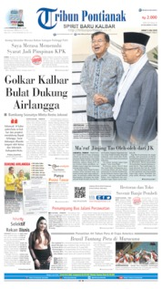 Cover Tribun Pontianak 05 Juli 2019
