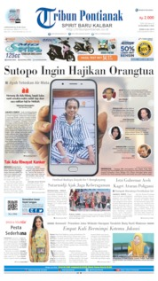 Cover Tribun Pontianak 08 Juli 2019