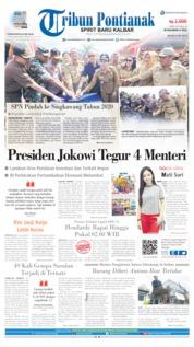 Cover Tribun Pontianak 09 Juli 2019