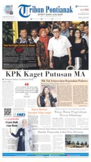 Cover Tribun Pontianak 10 Juli 2019