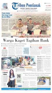 Tribun Pontianak Cover 12 July 2019