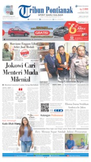 Tribun Pontianak Cover 13 July 2019
