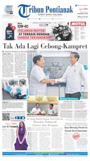 Tribun Pontianak Cover 14 July 2019