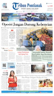 Tribun Pontianak Cover 15 July 2019