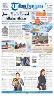 Cover Tribun Pontianak 16 Juli 2019