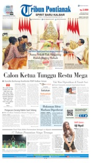 Tribun Pontianak Cover 19 July 2019